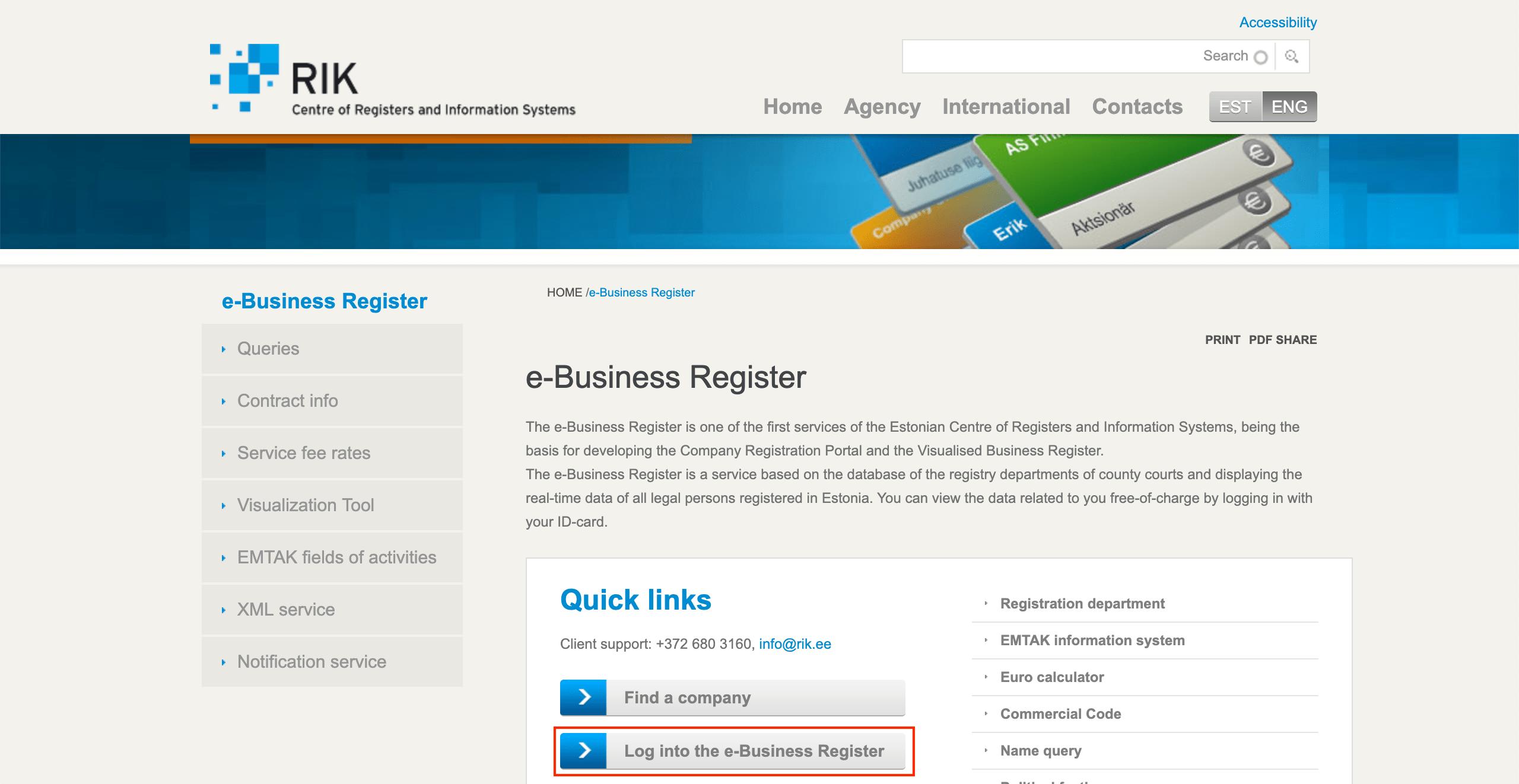 Cómo Descargar La Entrada En El Registro Y Los Artículos De Asociación De Tu Empresa En Estonia