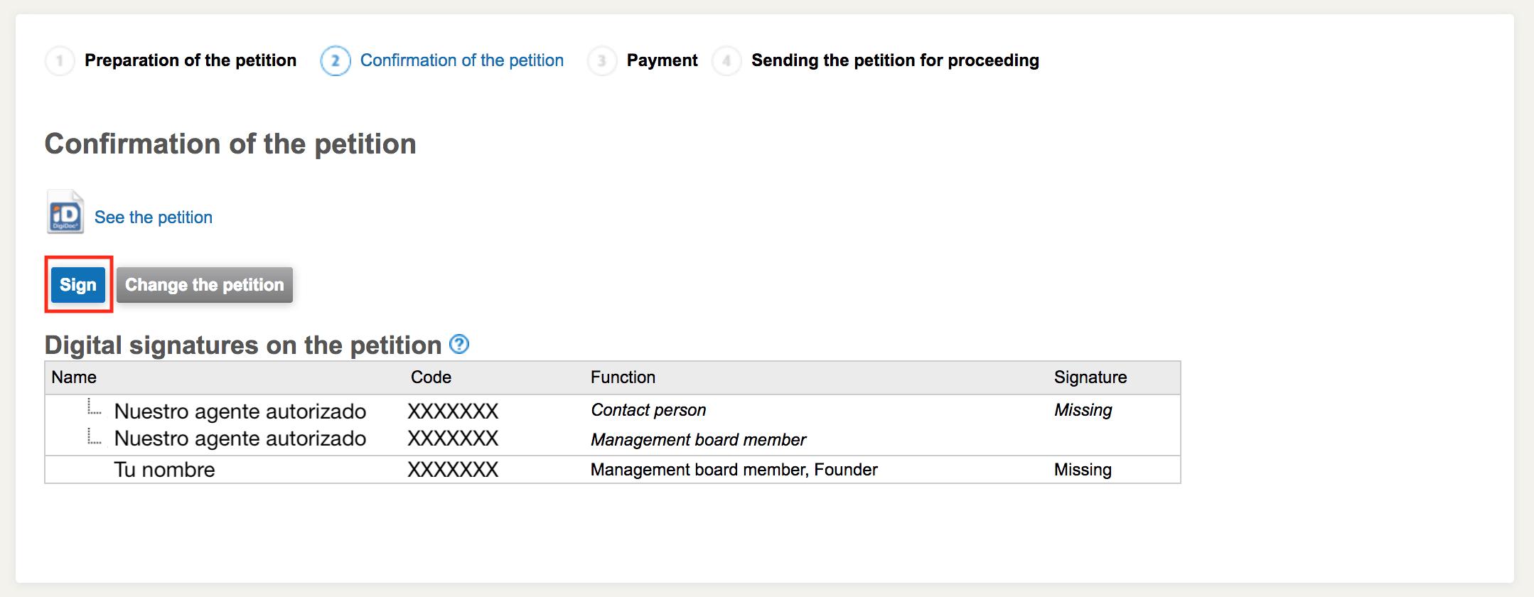 registro de tu empresa en Estonia, Cómo aceptar el registro de tu empresa en Estonia